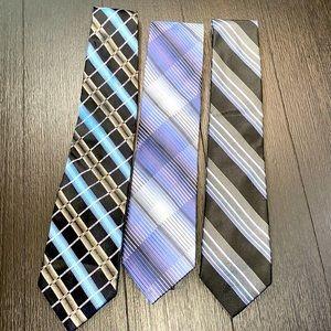 Men's Neck Ties Set of 3
